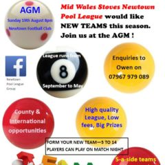 AGM set for Sunday 19th August 2018